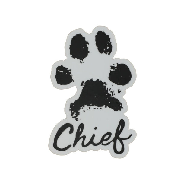 Chief Paw Sticker
