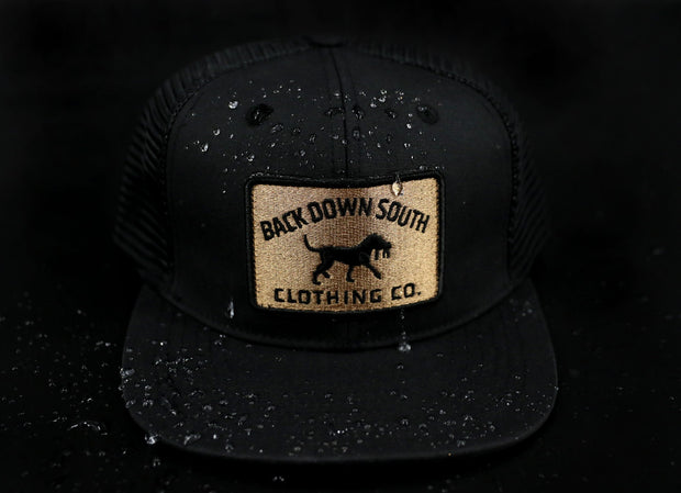 Pursuit Trucker - Black and Gold