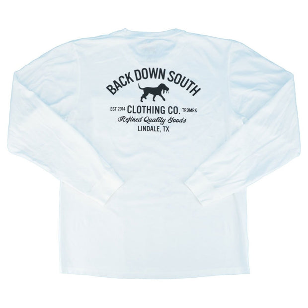 Refined Goods LS Pocket Tee - White