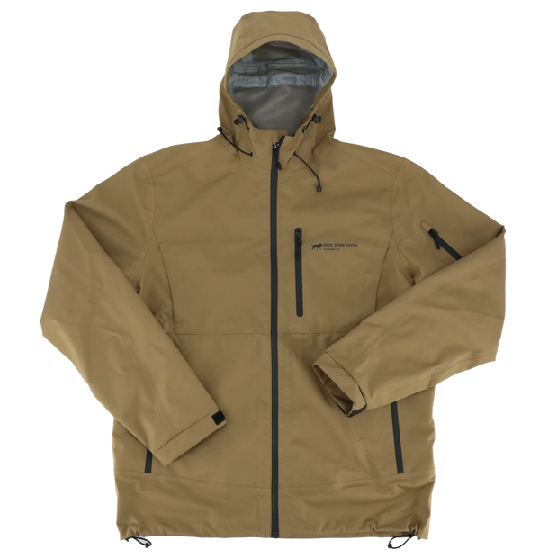The Woodline Jacket 100% Waterproof Shell - Tobacco