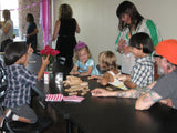 "Sat, Aug 12, 10-1130am ""Autumn Trees"" Kids Paint Public Houston Painting Class"