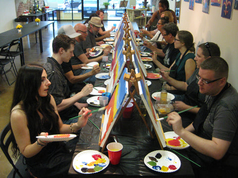 "Tues, Oct 13, 10a-12pm ""Children's Painting Workshop"" Houston Painting Party"