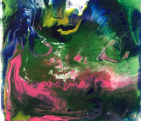 "Sat, Sep 26, 12-2p ""Zoom Acrylic Pour"" Houston Private Kids Painting Party"