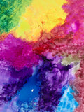 "Wed, Oct 16, 4-6pm ""Alcohol Inks"" Public Houston Kids Paint Class"