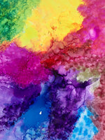 "Sun, Feb 7, 11a-1p ""Alcohol Inks on Tile"" Private Houston (VIRTUAL) Kids Painting Party"