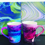 "Sat, Nov 7, 2-430p ""Alcohol Inks"" Private Houston Wine & Painting Class"