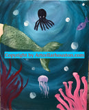 "Sun, Dec 15, 230-430pm ""My Mermaid"" Private Houston Kids Painting Party"