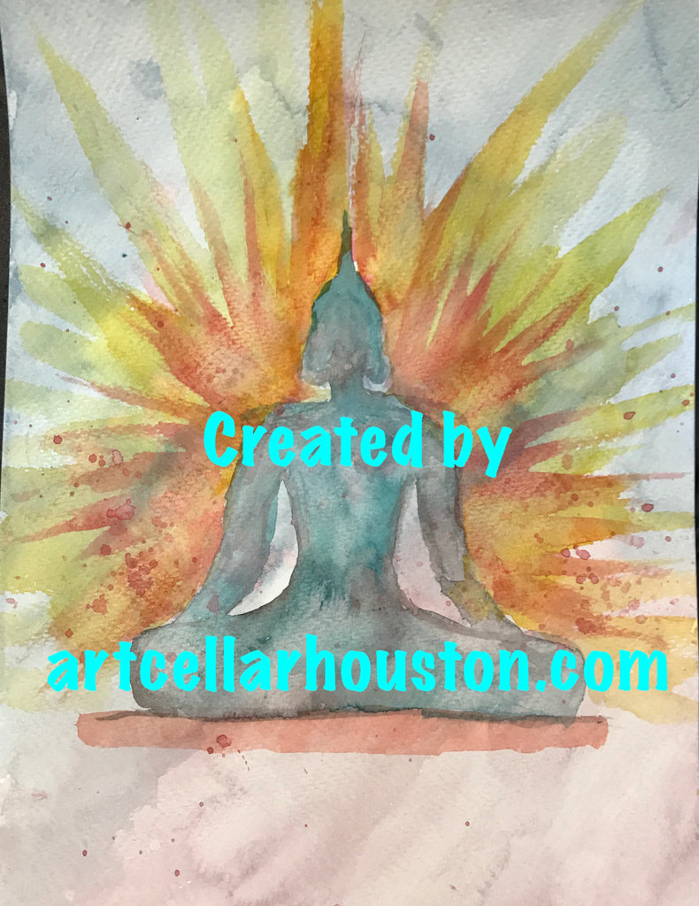 Wed, Feb 19, 4-6pm Kids Paint: Watercolors Public Houston Painting Class