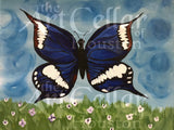 "Sun, May 6th, 2-4p ""Butterfly Meadow"" Private Houston Kids Painting Class"