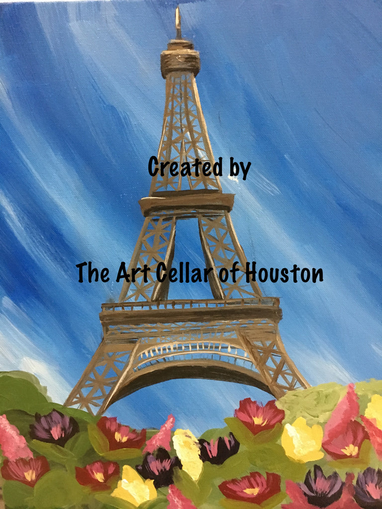 "Sat, Feb 1st, 7-10p ""From Paris with Love"" Public Houston Wine & Paint"