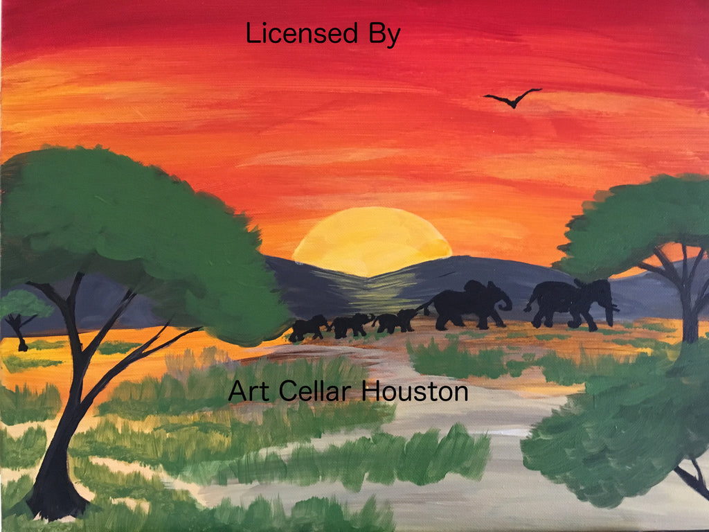 Thu, Mar 10, 12-2:30pm PRIVATE PARTY Houston Wine and Painting Class