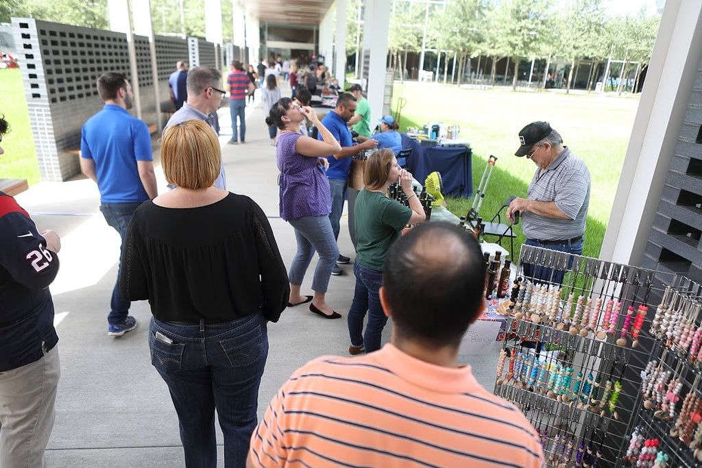 Art Is An Outdoor Market at Four Oaks Place, April 7, 2020