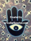 "Wed, Jan 22, 9a-12pm ""Watch Over Me"" Houston Public Painting Class"
