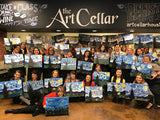 "Wed, Apr 24th, 130-430pm ""Elephant Love"" PRIVATE Houston Wine & Paint Team Building"