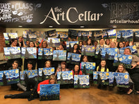 "Wed, Apr 24, 4-6p ""Boys V Girls"" Houston Public Kids Painting Class"