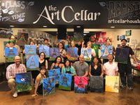"Sat, Mar 6, 9a-11am ""A Peaceful Day"" Houston Painting Class"