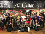 "Sat, Mar 30, 7-10pm ""Painting on Wineglasses"" Houston Public Painting Class"