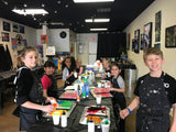 Sat, Feb 8, 9a-11a Kids Paint: Watercolors Public Houston Painting Class