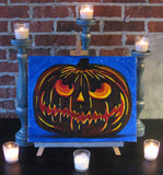 "Sat, Oct 8, 7:00-10:00pm ""Wicked Pumpkin"" Public Houston Wine and Painting Class"