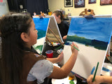 "Sat, Nov 2, 12-2pm ""Rainbow UniKitty"" Private Houston Kids Painting Party"