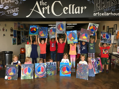 "Art Cellar Houston ""Wednesday Kids Paint"" After School Art Program, 2020 School Year"