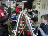 "Sat, Apr 13, 2-4pm ""Panda Love"" Private Houston Kids Painting Party"