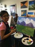 "Wed, Sep 7, 330-4pm ""The Rose"" Kids Paint Public Houston Kids Painting Class"