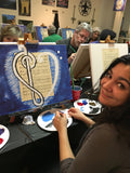 "Wed, Nov 20, 5-8pm ""Let's Glow Houston"" Houston Wine & Painting Class"