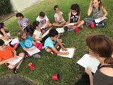 Wed, Sep 4, 4-6pm Kids Paint: Watercolors Public Houston Kids Painting Class