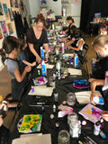"Sat, Mar 2, 10a-12p ""Kids Paint: Collage Work"" Public Houston Class"