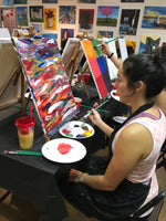 Wed, Jan 8, 9a-12pm Slow Flow Mojo Public Houston Yoga and Paint Class