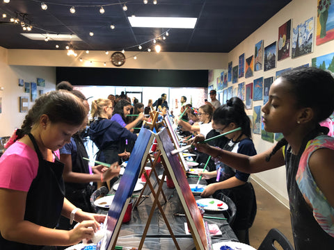 "Sun, Oct 28, 3-6pm ""My Colorful Journey"" PRIVATE Houston Kids Paint Party"