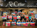 "Sat, Nov 2, 9-11am ""Polar Borealis"" Public Houston Kids Painting Class"