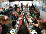 "Fri, Jan 18th, 1230-530pm ""Our Future is Bright"" Public Houston Kids Painting Day"