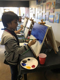 "Sat, Feb 11, 10-1130am ""Evening Roses"" Kids Paint Public Houston Painting Class"