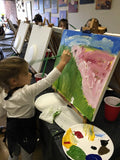 "Wed, Mar 13, 4-6p ""Dancing on Air"" Public Houston Kids Painting Party"