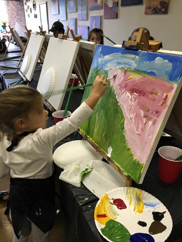 "Tue, Dec 20, 1-4pm ""Holiday Kids Paint"" Houston Public Painting Class"