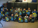 "Wed, Aug 22, 4-6pm Kids Paint ""Birds in Flight"" Houston Public Painting Class"