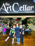 "Wed, Jan 8, 4-6p ""Outer Space"" Public Houston Kids Painting Class"