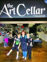 Wed, Sep 2, 4-6p Kids Paint: Desert Sunset Public Houston Watercolor Painting