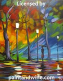 "Tue, Dec 4, 1-4pm ""Rainy Night"" Private Houston Painting Party"