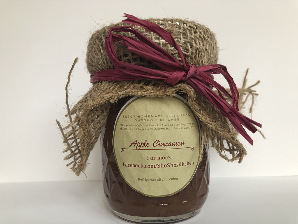 Apple Cinnamon Jam, Shosho's Kitchen