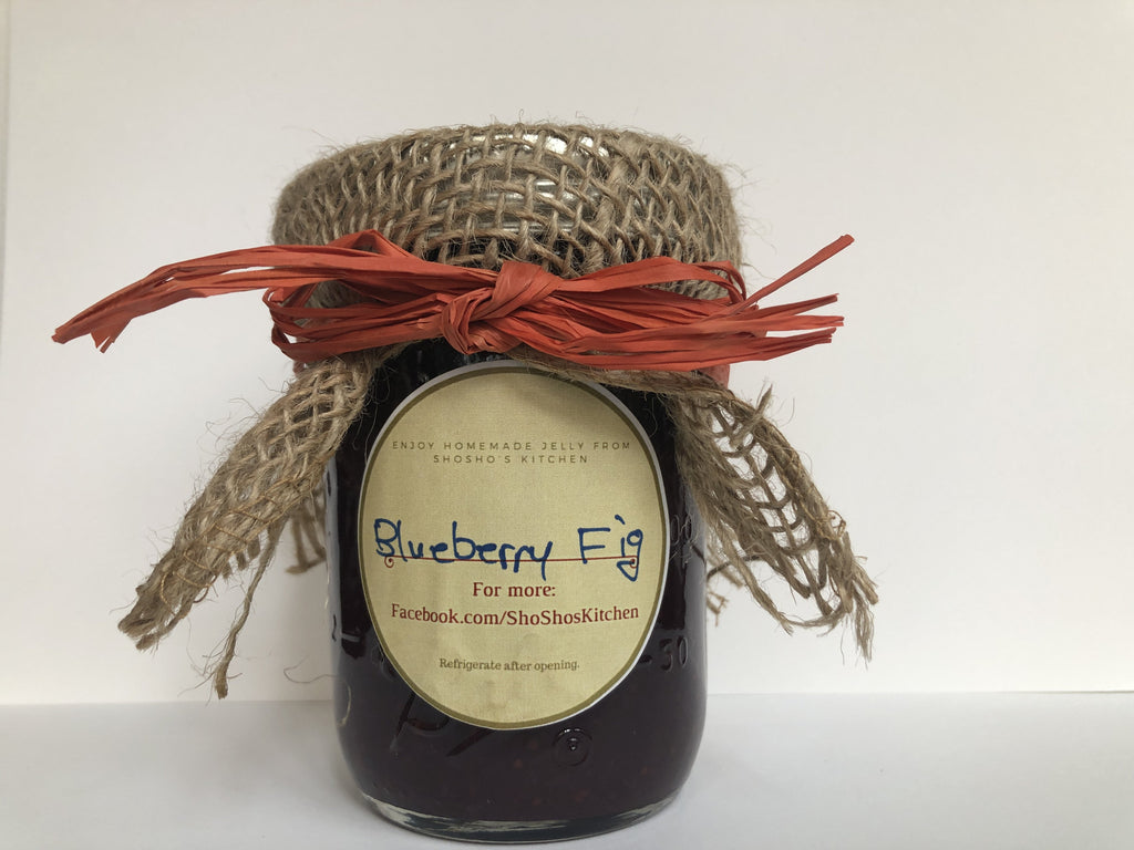 Blueberry Fig Jam, Shosho's Kitchen