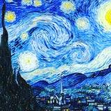 "Fri, Feb 28, 8-11pm ""Starry Night"" PRIVATE Houston Wine and Paint Party"