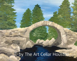 "Sat, Apr 6, 7-10pm ""My Summer Vacation"" Public Houston Wine and Painting Class"