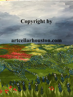"Fri, Apr 16, 1230-230P ""Bluebonnets"" Public Houston Painting Class"