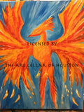 "Fri, Jan 18, 7-10pm ""Flight of the Phoenix"" Public Houston Wine & Painting Class"