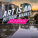ART IS AN Outdoor Market (CityPlace) May 17th 2019 Sponsorship