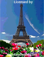 "Sat, May 22, 9-11A ""Eiffel Tower"" Public Houston Painting Class"