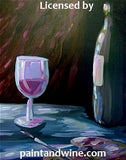 "Sat, Jun 2, 7-10pm ""Wine and Painting"" Private Houston Wine and Painting Party"